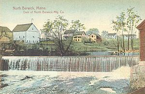 Dam of North Berwick Mfg. Co., North Berwick, ME