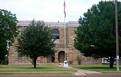 The Dickens County Courthouse