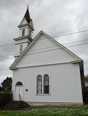Evangelical Church of Lafayette front