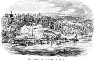 Franchere fort astoria 1813