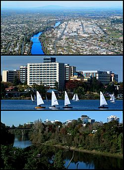 Hamilton City / Lake Rotoroa / Waikato River