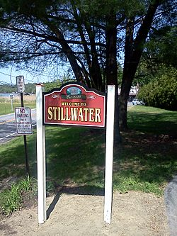 Welcome to Stillwater sign
