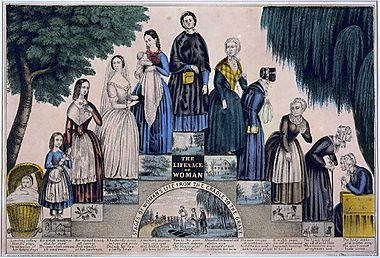 11-stages-womanhood-1840s