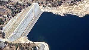 Aerial View Isabella Dam