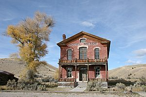 Bannack, the old hotel
