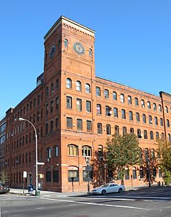 The Clock Tower, former factory now serving residential and commercial tenants