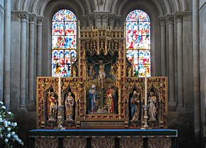 Christ Church Cathedral altar