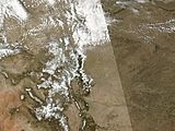 Dust Reduces Snow Cover in the San Juans - 2006