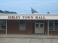 Revised photo of Sibley, LA, Town Hall IMG 0605.JPG