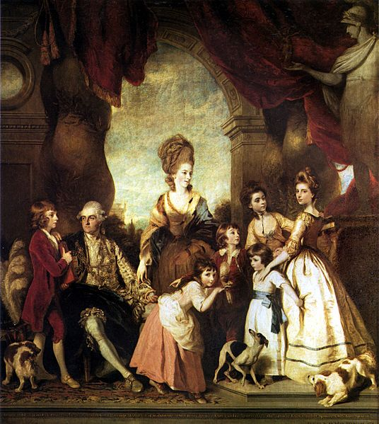 Reynolds - 4th Duke of Marlborough and Family