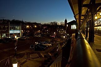 South Orange from train platform 2006 12 23