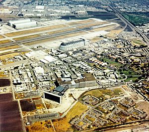 Aerial View of the NASA Ames Research Center - GPN-2000-001560