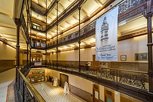 Atrium of Milwaukee City Hall
