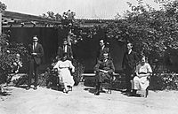 Charles Bean and other historians at Tuggeranong Homestead 1922