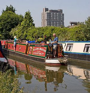 Grand Union Canal Aylesbury