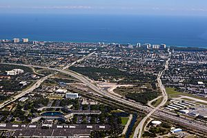 North Boca Raton Florida Aerial photo D Ramey Logan