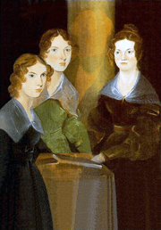 Painting of Brontë sisters
