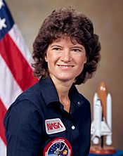 Sally Ride in 1964