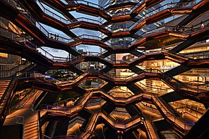 The Vessel, Hudson Yards, New York City, June 2019