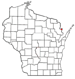Location of Wagner, Wisconsin