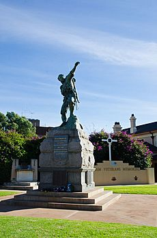 War Memorial, Broken Hill, New South Wales, Australia