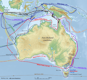 Map Of Australia Facts.History Of Australia Facts For Kids