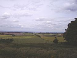 Barbury Castle looking North, over Swindon