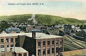 Factories & Freight Yards, Keene, NH