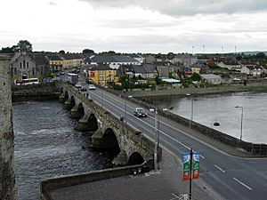 Limerick - Thomond Bridge - geograph.org.uk - 331738