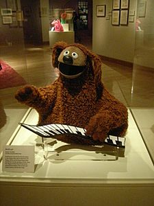 Rowlf the Dog in Jim Henson's Fantastic World Touring exhibit (in Little Rock, Arkansas)