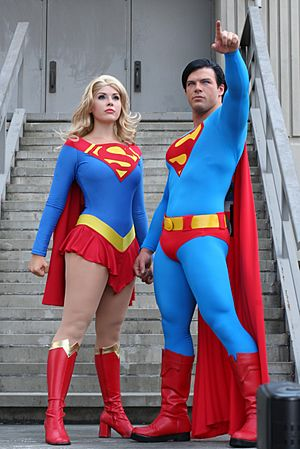 Superman and Supergirl DragonCon 2011