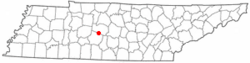 Location of Spring Hill, Tennessee
