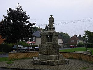 The memorial, Severals Park - geograph.org.uk - 48885