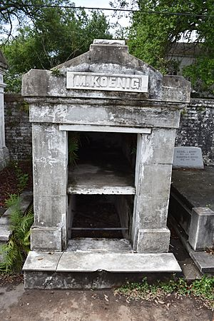 Tombs at Lafayette Cemetery No 1 Garden District New Orleans 22