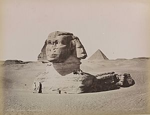 'Le Sphinx Armachis, Caire' (The Sphinx Armachis, Cairo)