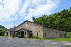 Wesleyan church on State Route 7