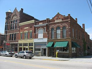 Farmland Downtown Historic District