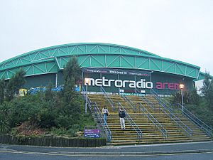 Metroradio Arena, Newcastle