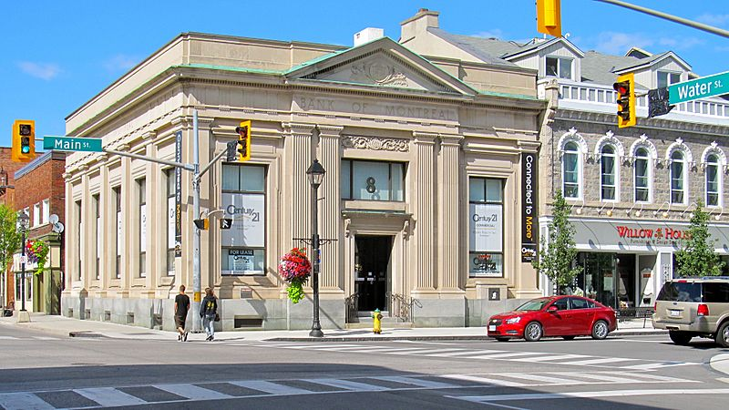 Bank of Montreal building Cambridge Ontario 2012