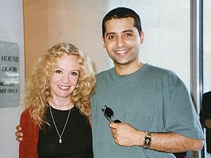 Hayley MIlls and Firdous Bamji at the Kennedy Center, Washington D.C (cropped).jpg