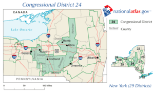 New York District 24 109th US Congress