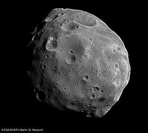 Phobos close up ESA310133