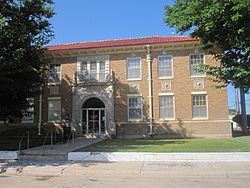 City Hall in Littlefield (built 1930)