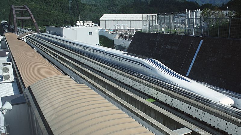 interesting facts about maglev trains
