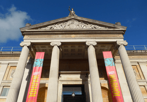 Ashmolean Museum Entrance February 2016