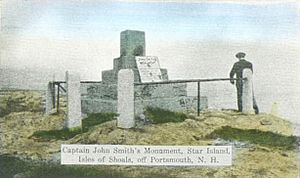 Capt. John Smith's Monument, Star Island, Isles of Shoals