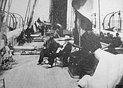 Deck of USRC Wayanda