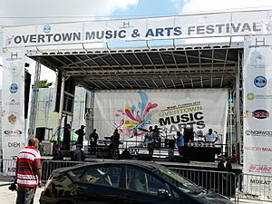 Miami FL Overtown Music and Art Festival