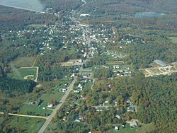 A birdseye view of Mt. Jewett (click to enlarge)