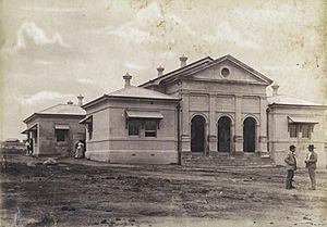 StateLibQld 1 257823 Charters Towers courthouse, ca. 1888